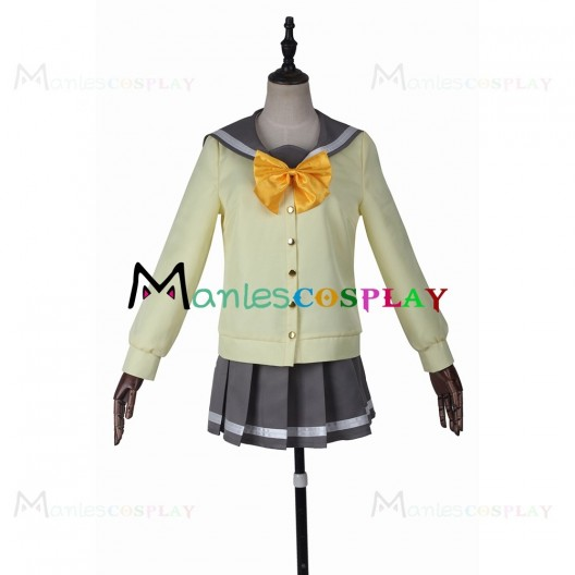 Kunikida Hanamaru Uniform For LoveLive Sunshine Cosplay