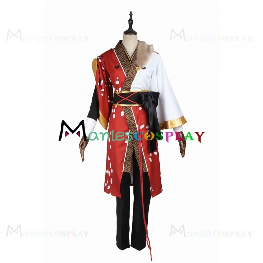 Kuro Kiryu Costume For Ensemble Stars Akatsuki Cosplay