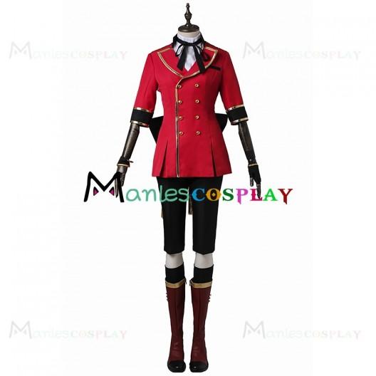 L Nomura Costume For MARGINAL 4 Cosplay