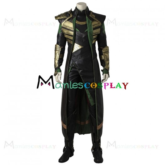 Loki Costume For Thor The Dark World Cosplay