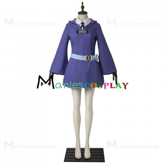 Lotte Yanson Uniform For Little Witch Academia Cosplay