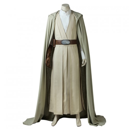 Luke Skywalker Costume For Star Wars The Last Jedi Cosplay