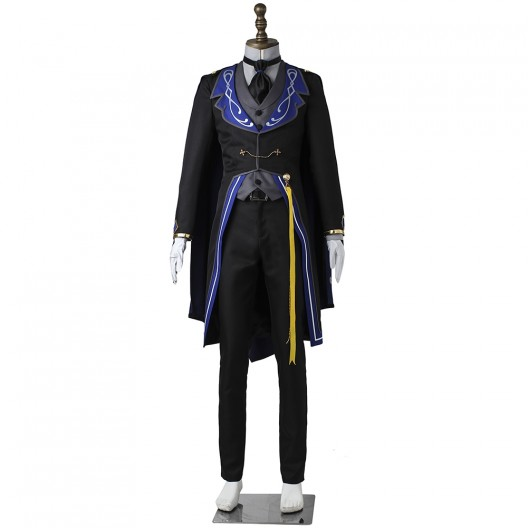 Madara Mikejima Costume For Ensemble Stars Reminiscence Monochrome Checkmate Cosplay
