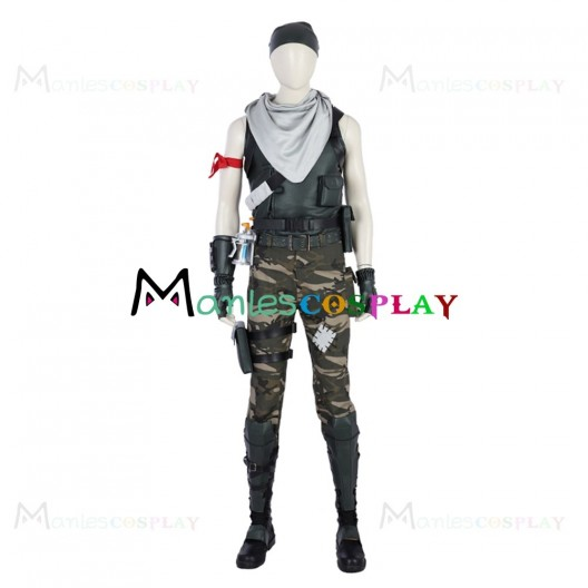 Male Special Soldier Costume For Fortnite Cosplay