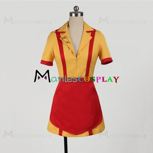 Max Costume For 2 Broke Girls Cosplay