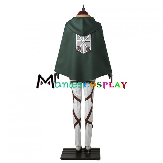 Training Legion Mikasa Ackerman Costume For Attack On Titan Cosplay