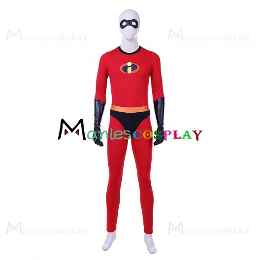 Mr Incredible Uniform For The Incredibles Cosplay