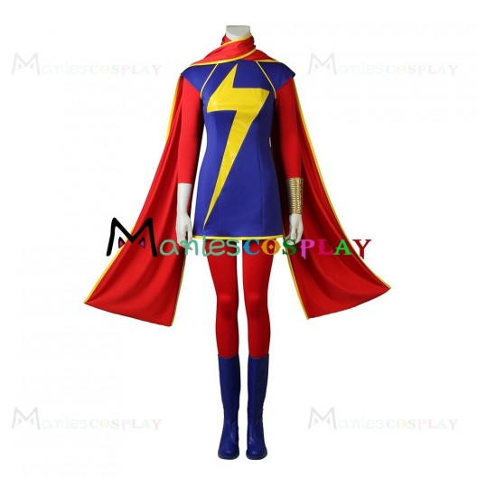 Ms. Marvel Cosplay Costume from The Avengers Infinity War