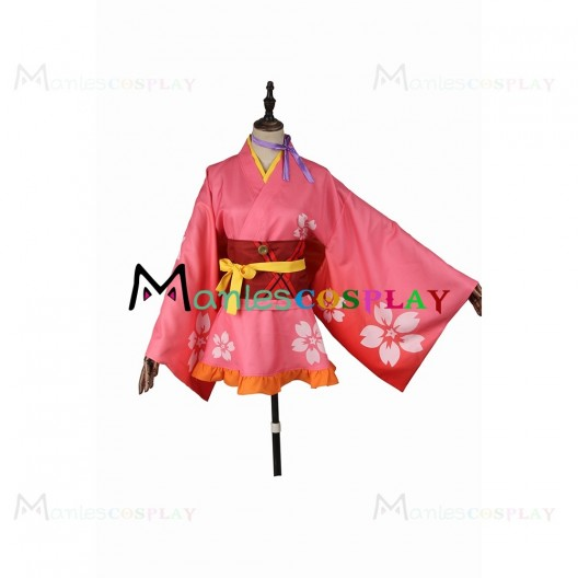 Mumei Costume For Kabaneri of the Iron Fortress Cosplay