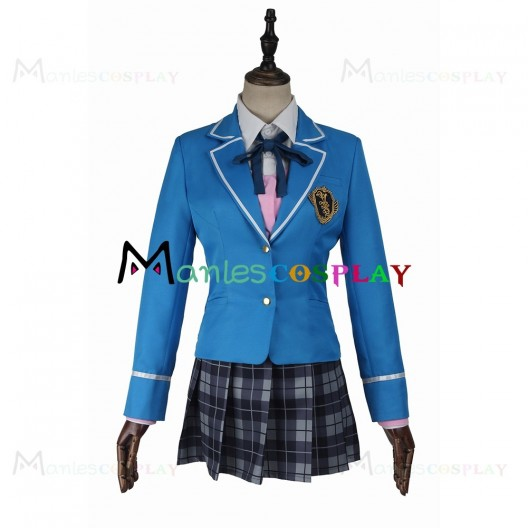 Nazuna Nito School Uniform For Ensemble Stars Cosplay
