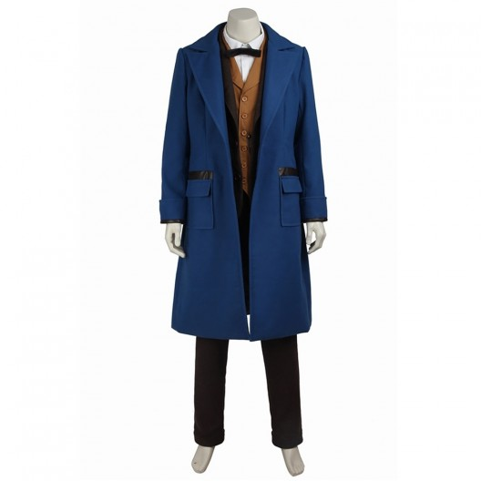 Newt Scamander Costume For Fantastic Beasts Cosplay