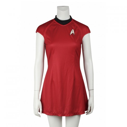 Nyota Uhura Costume For Star Trek Into Darkness Cosplay
