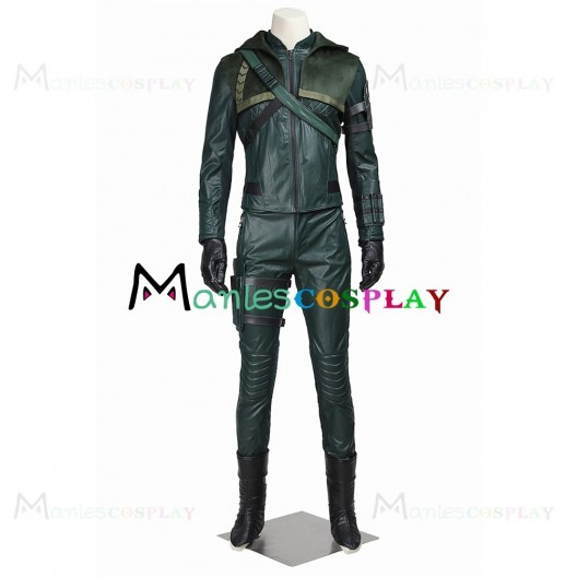 Oliver Queen Costume For Arrow Season 3 Cosplay