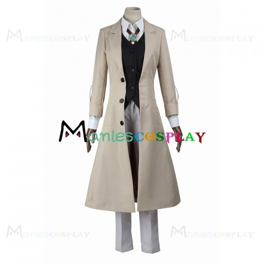 Osamu Dazai Costume For Bungo Stray Dogs Cosplay