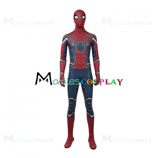 Peter Parker Costume For Avengers Infinity War Cosplay