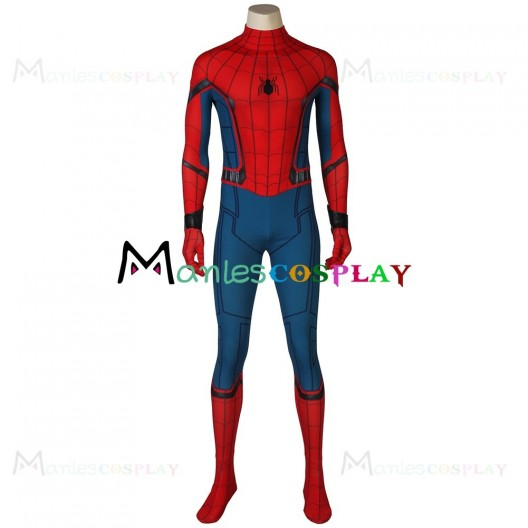 Peter Parker Jumpsuit For Spider Man Homecoming Cosplay