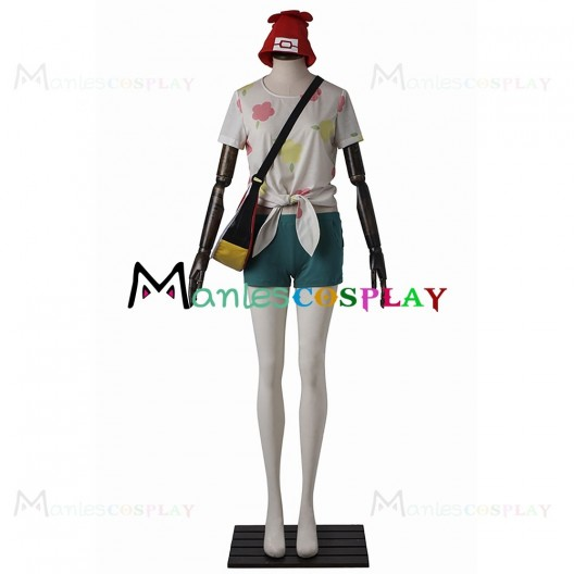 Player Heroine Costume For Pokemon Sun and Moon Cosplay
