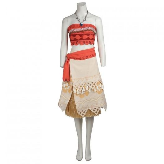 Princess Moana Costume For Moana Cosplay