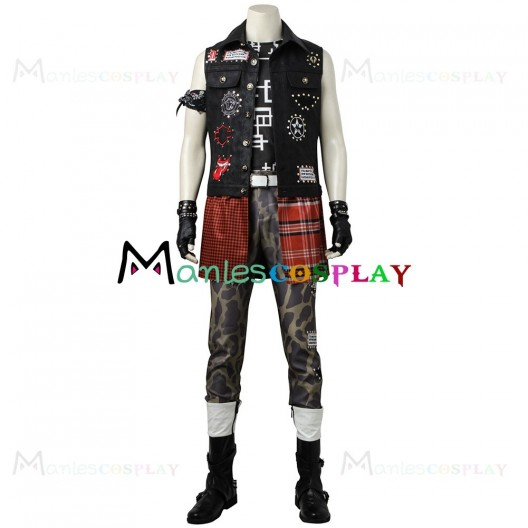 Prompto Argentum Costume for Final Fantasy Cosplay