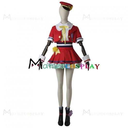 Mio Honda Costume for The Idolmaster Cosplay