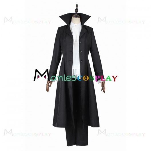 Ryunosuke Akutagawa Costume For Bungo Stray Dogs Cosplay