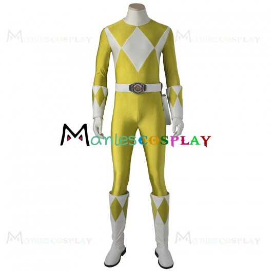 Saber Tiger Costume For Mighty Morphin Power Rangers Cosplay