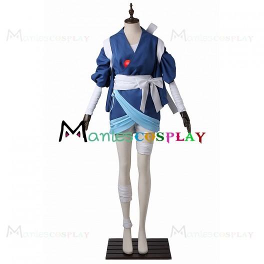 Sayo Samonji Kimono For Touken Ranbu Cosplay