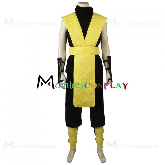 Scorpion Costume For Mortal Kombat Cosplay