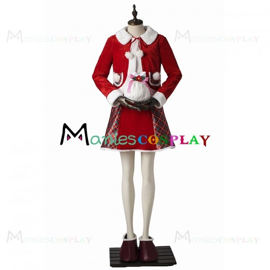 Shellie May Christmas Costume For Disney Duffy And ShellieMay Cosplay