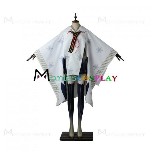 Snow Miku 2018 Kimono Costume For Vocaloid 2 Cosplay