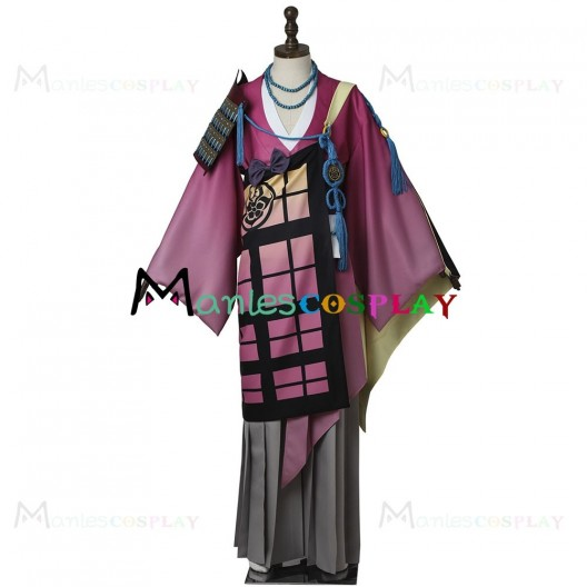 Souza Samonji Kimono For Touken Ranbu Cosplay