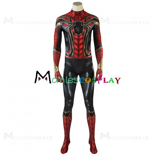 Spider Man Costume For Avengers Infinity War Cosplay