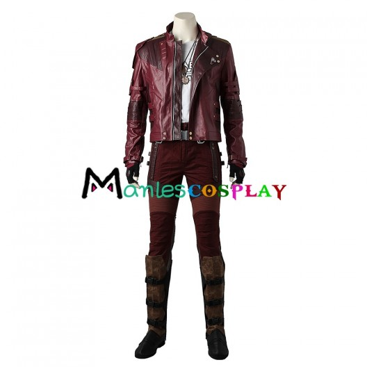Peter Quill Star-Lord Costume For Guardians of the Galaxy Cosplay