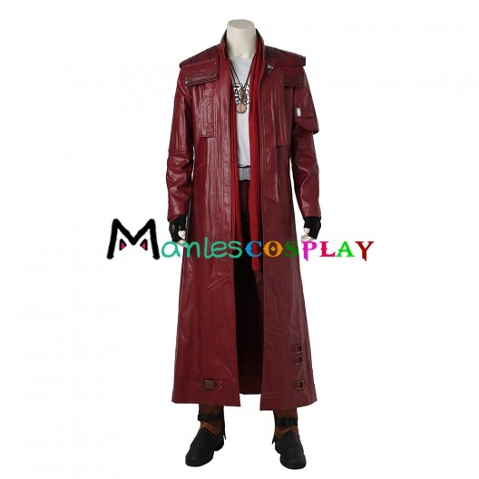 Star-Lord Peter Quill Costume For Guardians of the Galaxy Cosplay