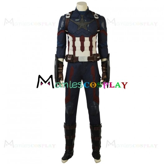 Captain America Cosplay Costume from Avengers Infinity War