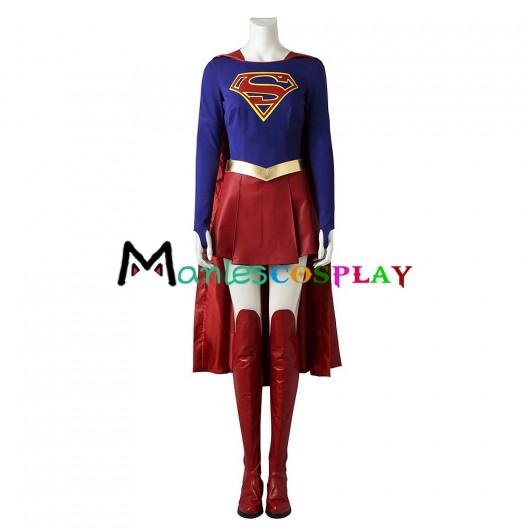 Supergirl Kara Zor-El Costume For Superman Cosplay