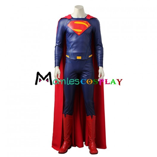 Superman Clark Kent Costume For Justice League Cosplay