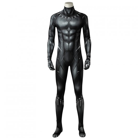 T'Challa Costume For Black Panther 2018 Cosplay