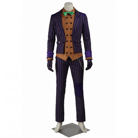 The Joker Costume For Batman Arkham Knight Cosplay