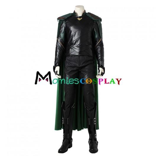Loki Costume For Thor Ragnarok Cosplay