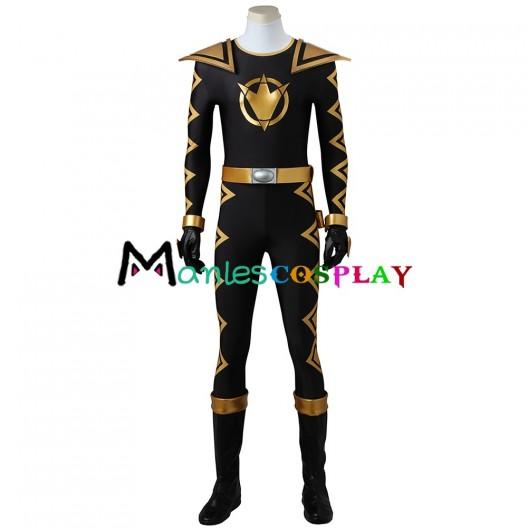 Tommy Oliver Black Dino Ranger Costume For Power Rangers Dino Thunder Cosplay