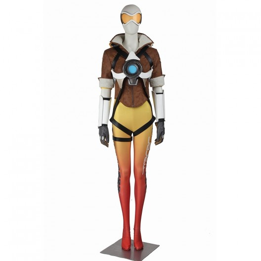 Tracer Lena Oxton Costume For Overwatch Cosplay