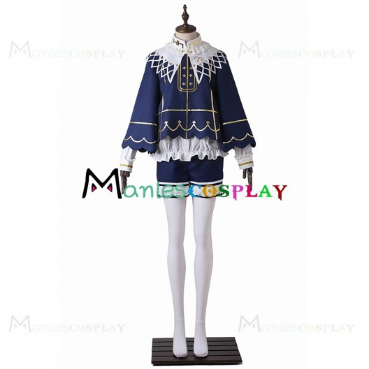 Tsukasa Suou Blue Costume For Ensemble Stars Cosplay