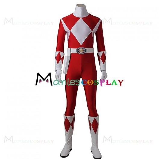 Tyranno Ranger Geki Costume For Mighty Morphin Power Rangers Cosplay