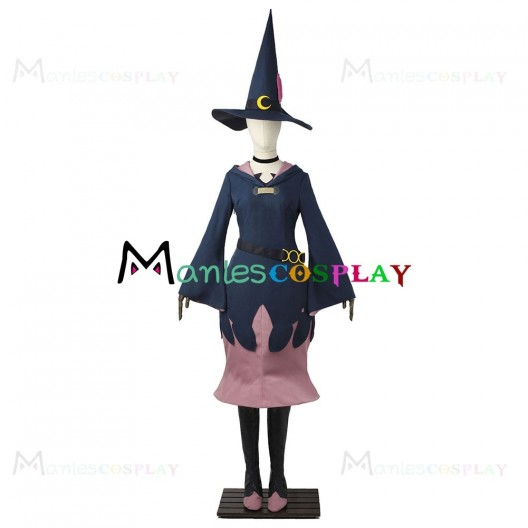 Ursula Callistis Costume For Little Witch Academia Cosplay