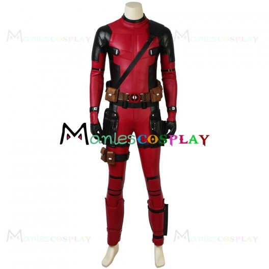 Wade Winston Wilson Costume For Deadpool 2 Cosplay