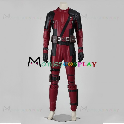 Wade Winston Wilson Costume For Deadpool Cosplay