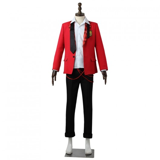 Wakazato Haruna Costume For The Idolmaster SideM High x Joker Cosplay