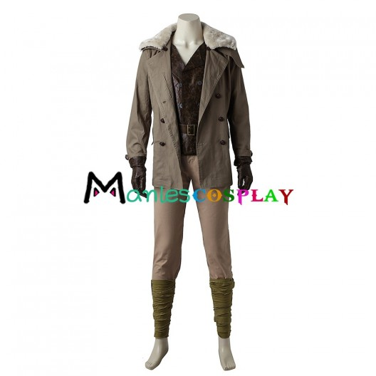 Steve Trevor Costume For Wonder Woman Cosplay