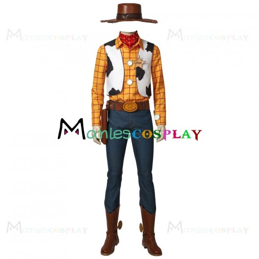 Woody Costume For Toy Story Cosplay